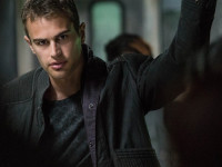 Theo James Channels Paul Newman Swagger With 'Divergent'