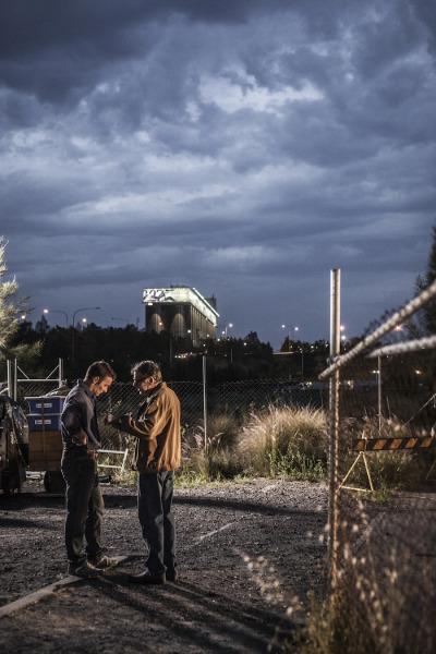 Joel Edgerton & Tom Wilkinson in 'Felony' (Gravitas Ventures)