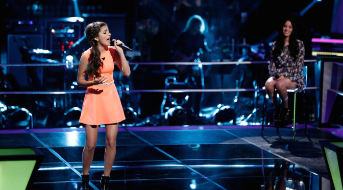 """'The Voice' Artist Bryana Salaz: """"I Love Being On Stage"""""""