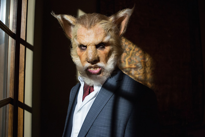 "GRIMM -- ""Cry Luison"" Pictured: Mark Bloom as The Wolf -- (Photo by: Scott Green/NBC)"
