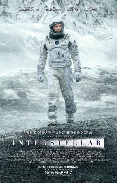 Interstellar-Poster - Paramount Pictures