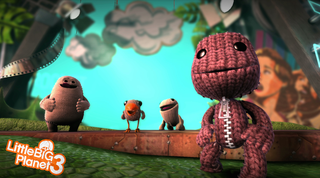LITTLE BIG PLANET 3 - SONY PLAYSTATION