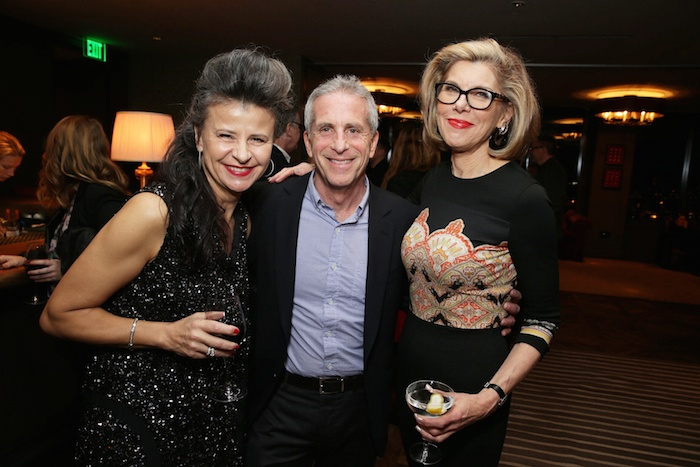 "EXCLUSIVE -Tracey Ullman, Producer Marc Platt, Christine Baranski joined Alan Horn, Chairman of Walt Disney Studios, hosted a holiday gathering celebrating ""Into the Woods"" on Wednesday, December 17 in Los Angeles, CA. The humorous and heartfelt musical, that has been nominated for 3 golden globe awards including Best Picture opens in theaters nationwide on December 25, 2014. (Photo by Eric Charbonneau/Invision for Walt Disney/AP Images)"