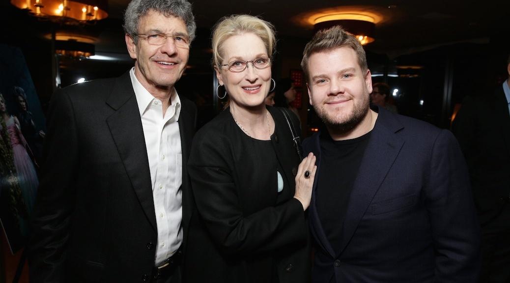 Alan Horn, Meryl Streep, James Corden