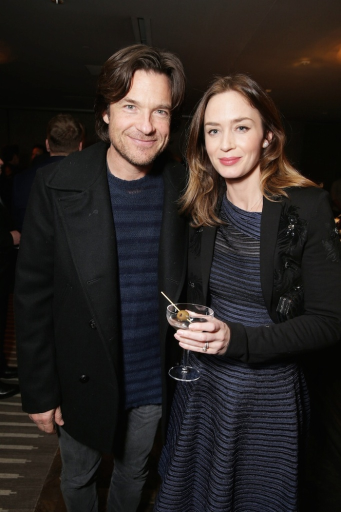 "EXCLUSIVE - Jason Bateman and Emily Blunt joined Alan Horn, Chairman of Walt Disney Studios, hosted a holiday gathering celebrating ""Into the Woods"" on Wednesday, December 17 in Los Angeles, CA. The humorous and heartfelt musical, that has been nominated for 3 golden globe awards including Best Picture opens in theaters nationwide on December 25, 2014. (Photo by Eric Charbonneau/Invision for Walt Disney/AP Images)"