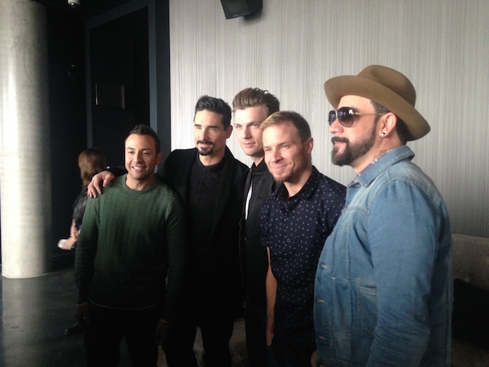 """Backstreet Boys: Show 'Em What You're Made Of"" Press Conference - January 29, 2015."