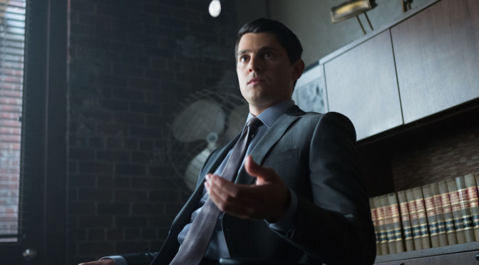 Nicholas D'Agosto Talks 'Gotham' And Harvey Dent's Future