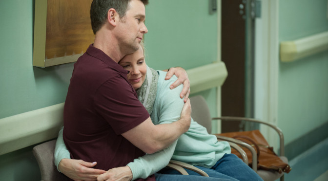 "VIDEO: Monica Potter & Peter Krause On Favorite ""Parenthood"" Moments"