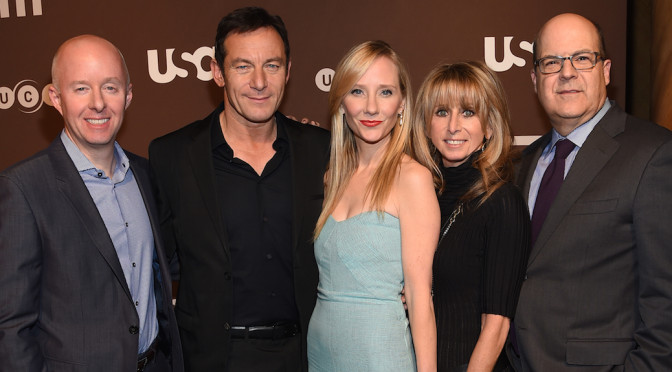 """VIDEO: Anne Heche """"Thrilled"""" With """"Dig"""" Experience"""