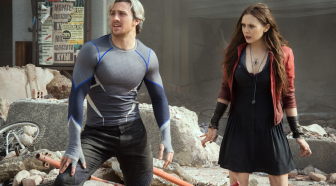 """Avengers: Age of Ultron"" Trailer & Scarlet Witch Speaks!"