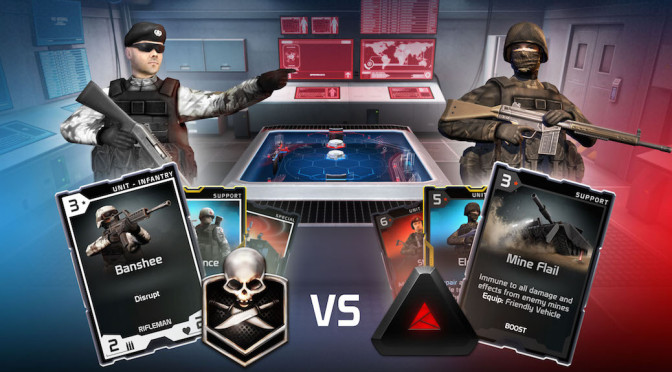 """Chillingo Partners With Codemasters With """"Battle Decks"""""""