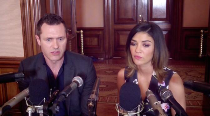 """VIDEO: Jason O'Mara & Jessica Szohr Reveal Their """"Complications"""""""