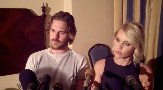 Grey Damon & Claire Holt Grateful For 'Aquarius' Experience