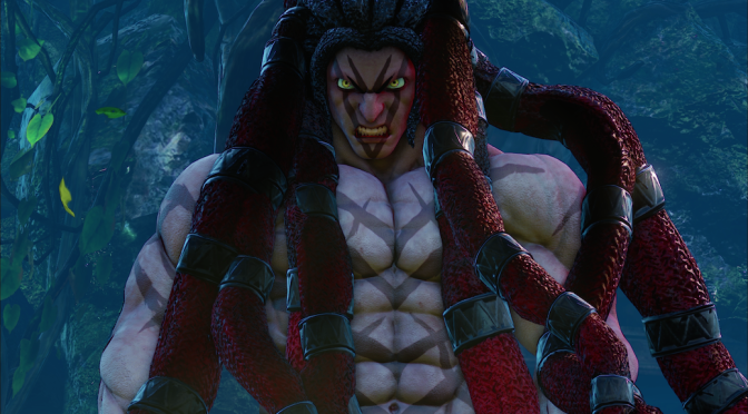 'Street Fighter V' Introduces Brand New Fighter Necalli