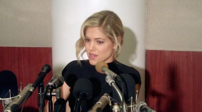 "Charity Wakefield Is ""Wired"" For 'The Player' Experience"