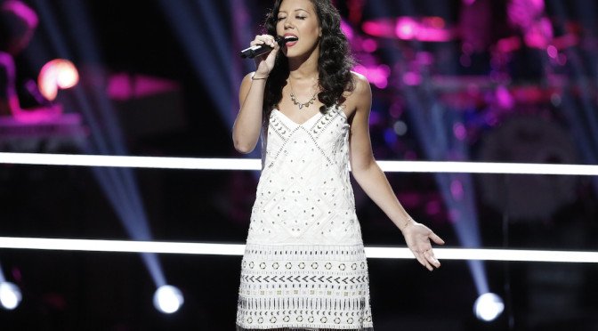 """Exclusive: Amy Vachal Continues """"Dream"""" With 'The Voice' Playoffs"""