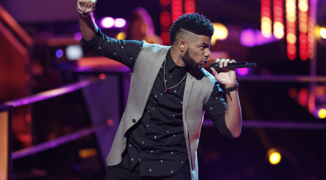 """Exclusive: Mark Hood Climbs """"The Voice"""" Mountain With Unwavering Talent"""
