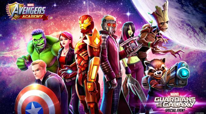 """Guardians"" Enter 'Marvel Avengers Academy' Mobile Game"