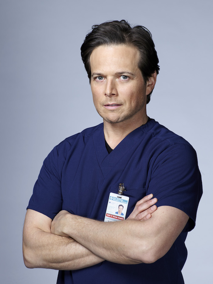 THE NIGHT SHIFT -- Season: 3 -- Pictured: Scott Wolf as Scott Clemmens -- (Photo by: Paul Drinkwater/NBC)