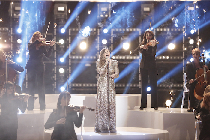 "THE VOICE -- ""Live Finale""  Alisan Porter -- (Photo by: Tyler Golden/NBC)"