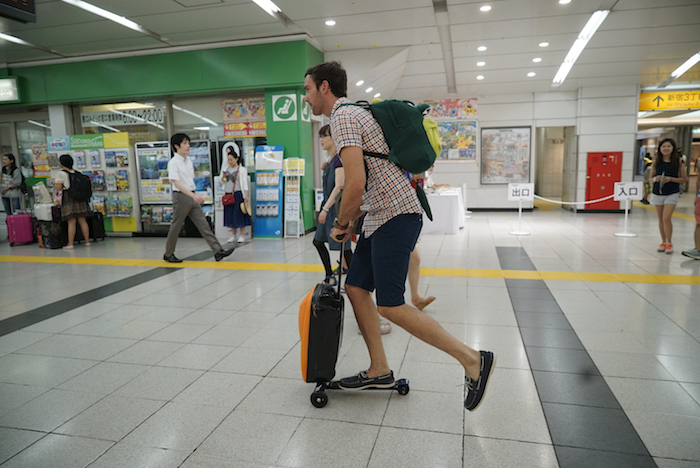"BETTER LATE THAN NEVER -- ""Tokyo, Japan"" Pictured: Jeff Dye -- (Photo by: Paul Drinkwater/NBC)"