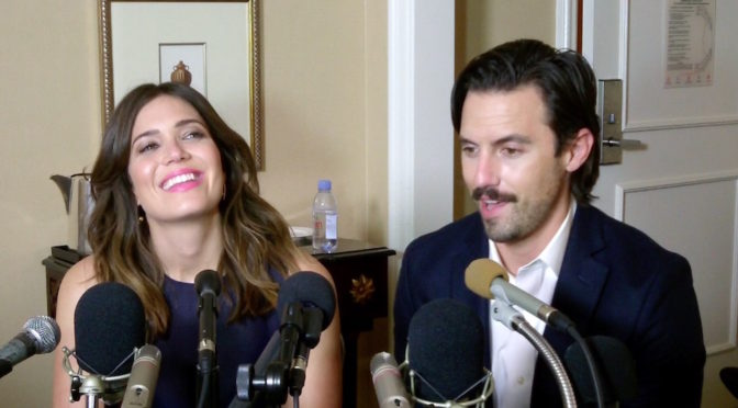 Milo Ventimigilia And Mandy Moore Talk 'This Is Us' Chemistry – And Bell Bottoms!