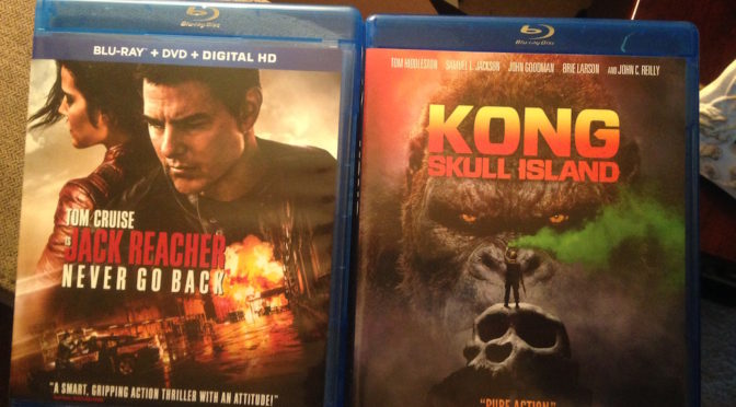 """Kong Skull Island"" & ""Jack Reacher Never Go Back"" Blu-ray Giveaway!!"