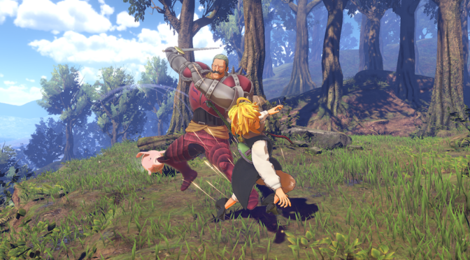 The Seven Deadly Sins: Knights of Brittania