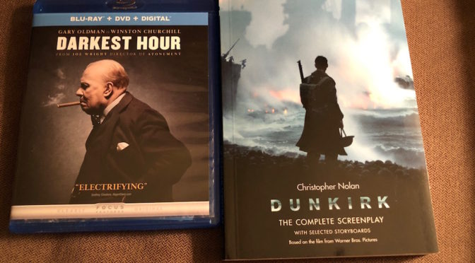 'Darkest Hour' Blu-Ray And 'Dunkirk' Screenplay Giveaway From CinemAddicts!