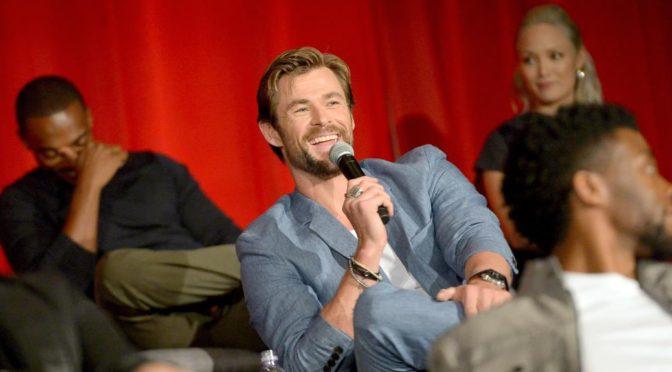 Chris Hemsworth Has The Butterflies Working On 'Avengers: Infinity War'